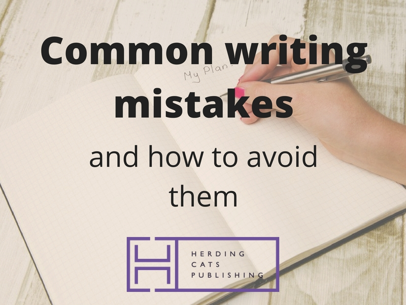 How to avoid common writing mistakes