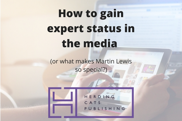 How to gain expert status in the media