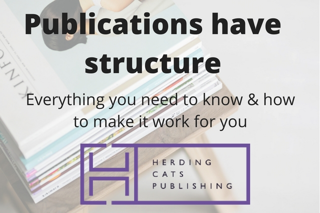 WAIT! Publications have structure?