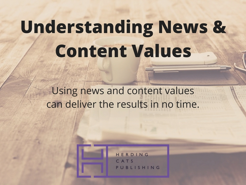 Understanding News and Content Values