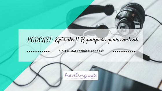Episode 11 – Repurposing Your Content
