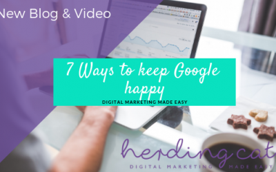7 Ways to Keep Google Happy