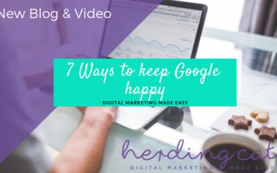 7 Ways to Keep Google Happy
