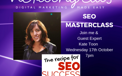 SEO Made Easy Masterclass with Kate Toon
